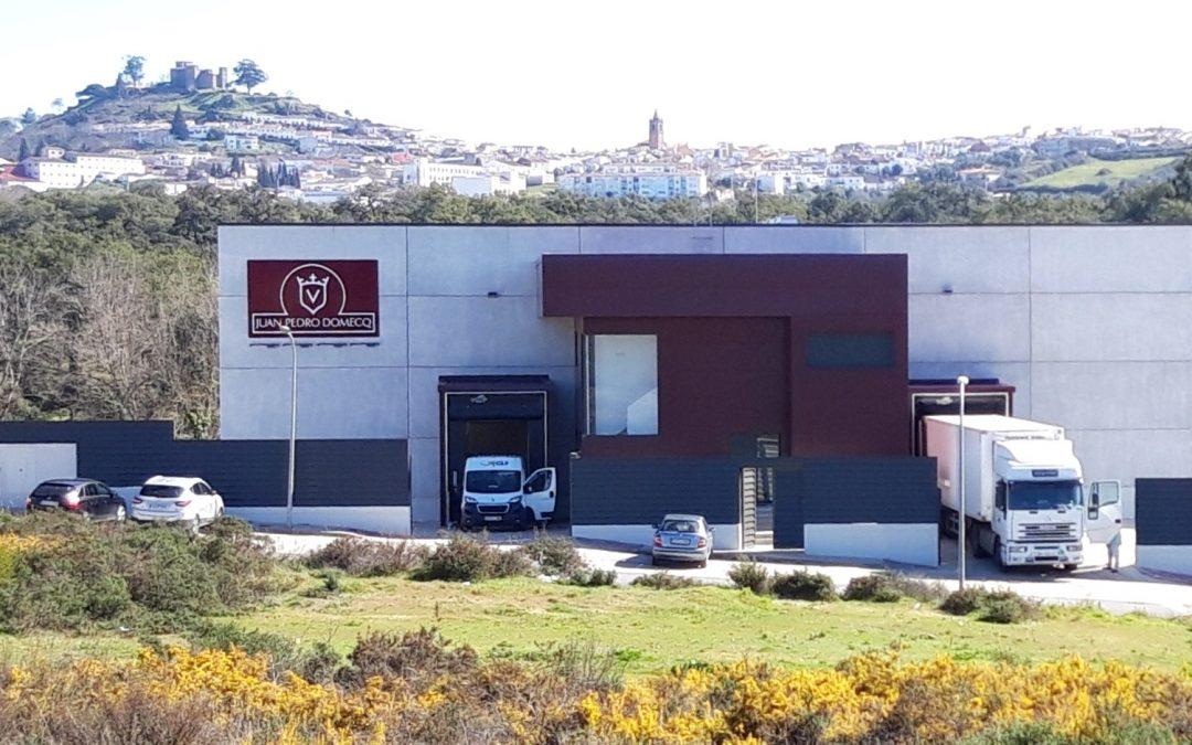 Las instalaciones de Juan Pedro Domecq en pleno funcionamiento.