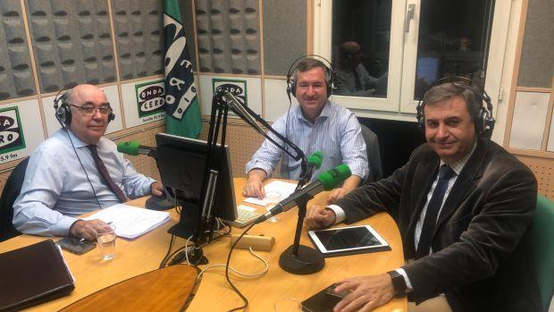 Jorge Loring en representación del CLANER participa en Andalucía capital de Onda Cero